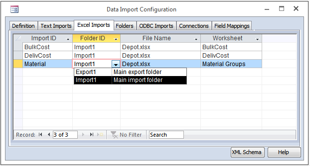 Import Definition